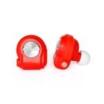 Nilox Drops Rojos Bluetooth 4.0 - Auriculares Inalámbricos