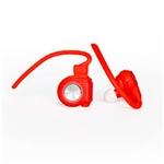 Nilox Drops Rojos Bluetooth 40  Auriculares Inalámbricos