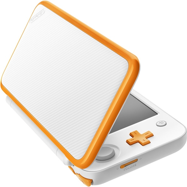 Nintendo New 2DS XL Blanca y Naranja – Consola