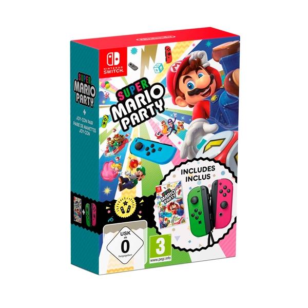 Nintendo Switch Super Mario Party + Joy-Con - Videojuego