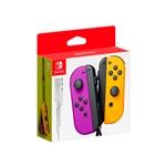 Nintendo Switch JoyCon pack 2 moradonaranja  Gamepad