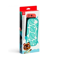 Funda Animal Crossing + Protector Pantalla Nintendo Switch