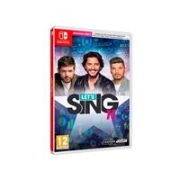 Nintendo Switch Let's Sing 11 - Videojuego