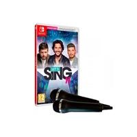 Nintendo Switch Letampaposs Sing 11  2 micrófonos  Juego