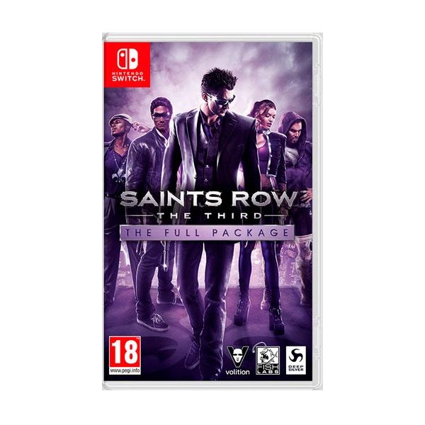 Nintendo Switch Saints Row the Third - Videojuego