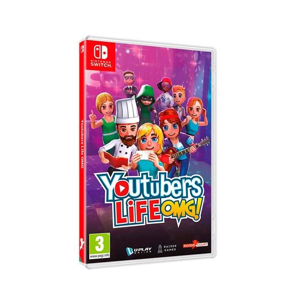 Nintendo Switch Youtubers Life OMG - Videojuego