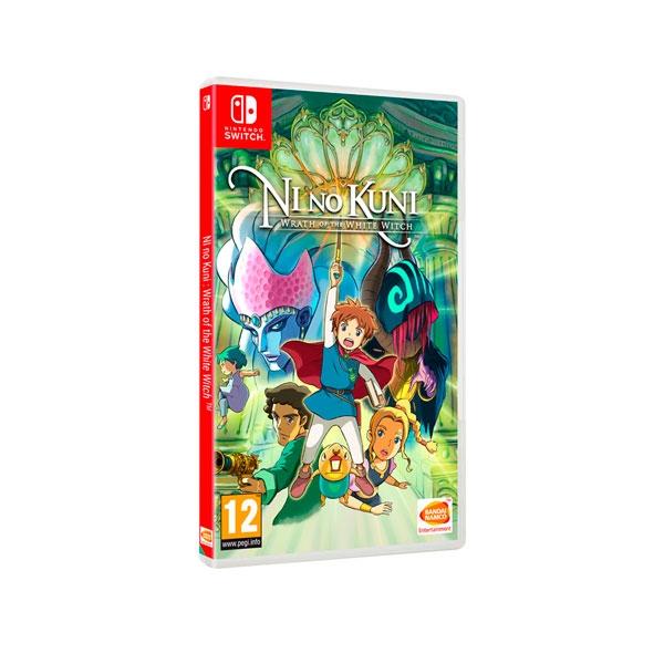 Nintendo Switch Ni No Kuni La ira de la bruja blanca