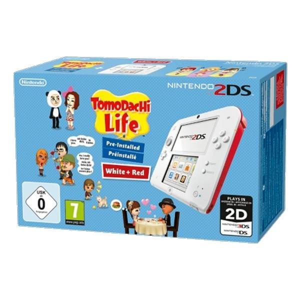 Nintendo 2DS Blanca + Tomodachi Life – Consola