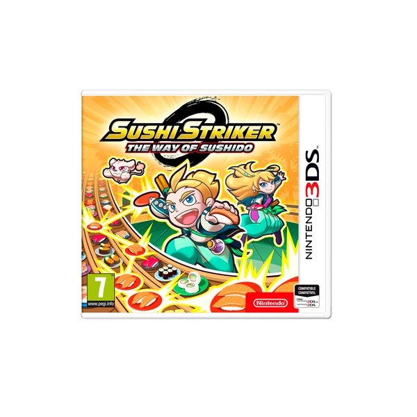 Nintendo 3DS Sushi Striker The Way of Sushido - Videojuego