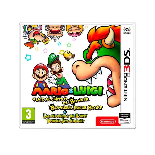 Nintendo 3DS Mario amp Luigi Las Peripecias de Bowsy  Juego