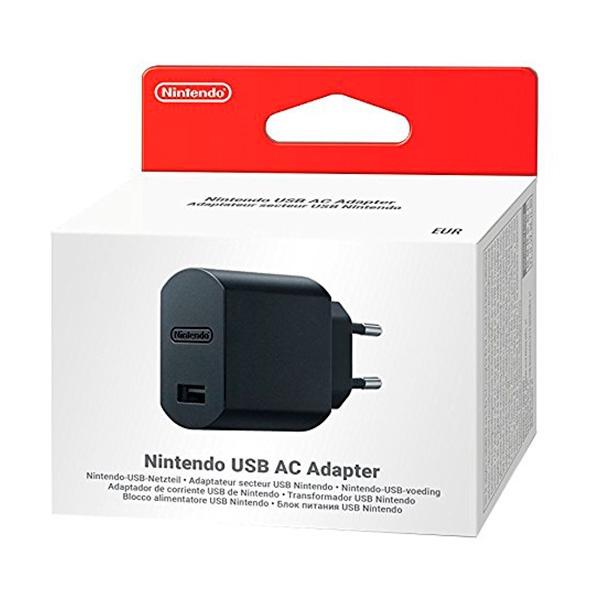 Adaptador de corriente USB para Nintendo Switch