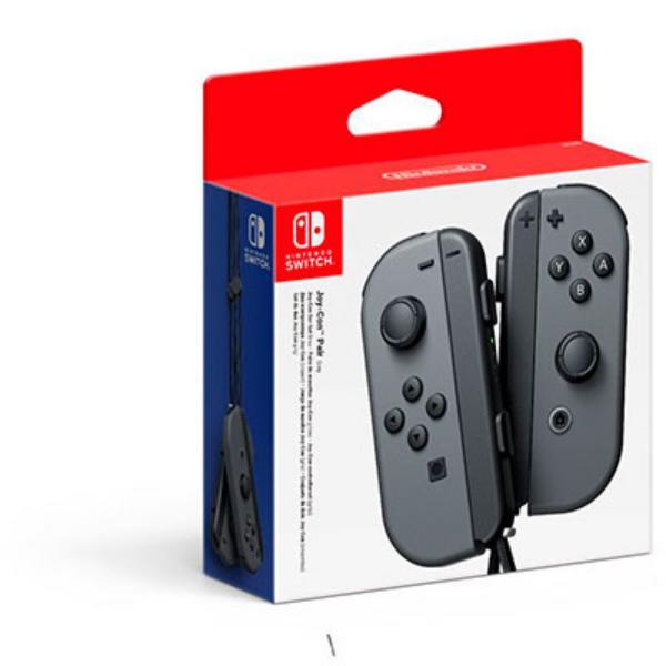 Nintendo Pack JoyCon Izquierdo  Derecho Gris  Accesorio