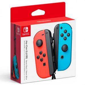 Nintendo Switch JoyCon pack 2 rojo neónazul  Accesorio