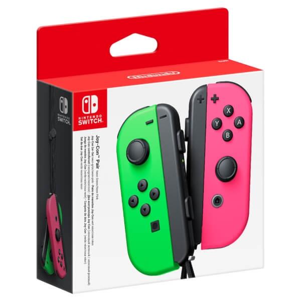 Pack de 2 mandos Joy-Con para Nintendo Switch – Verde / Rosa