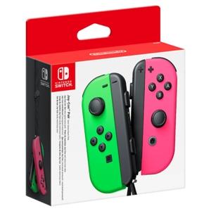 Pack de 2 mandos JoyCon para Nintendo Switch  Verde  Rosa