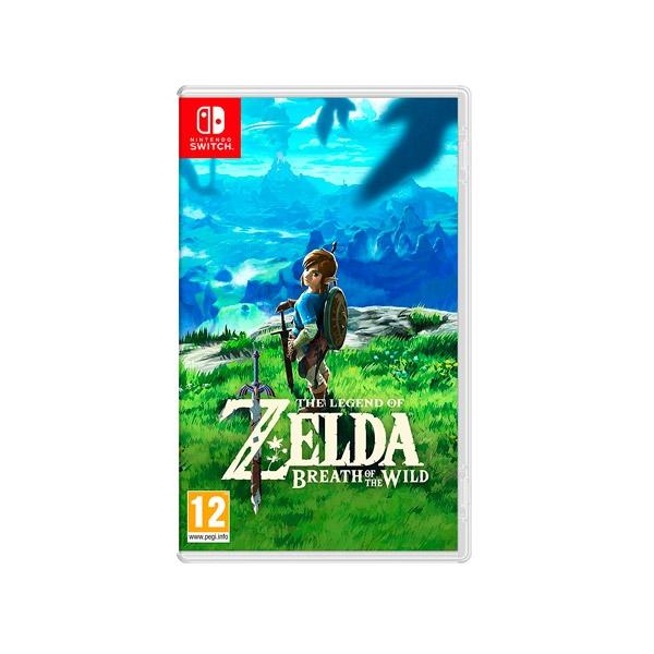 Nintendo Switch Legend of Zelda Breath of the Wild – Juego