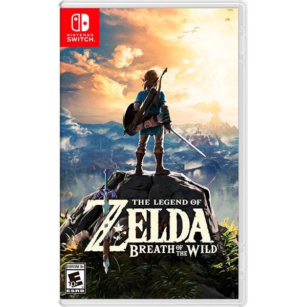 Nintendo Switch The Legend of Zelda BOTW – Videojuego
