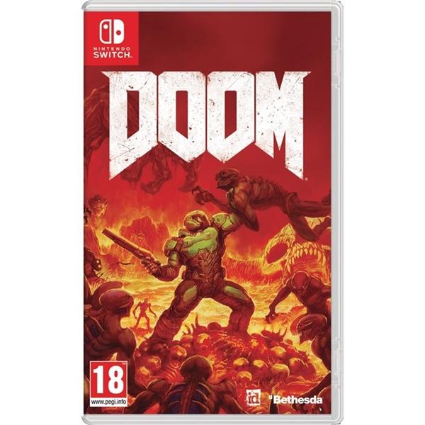 Nintendo Switch Doom – Videojuego