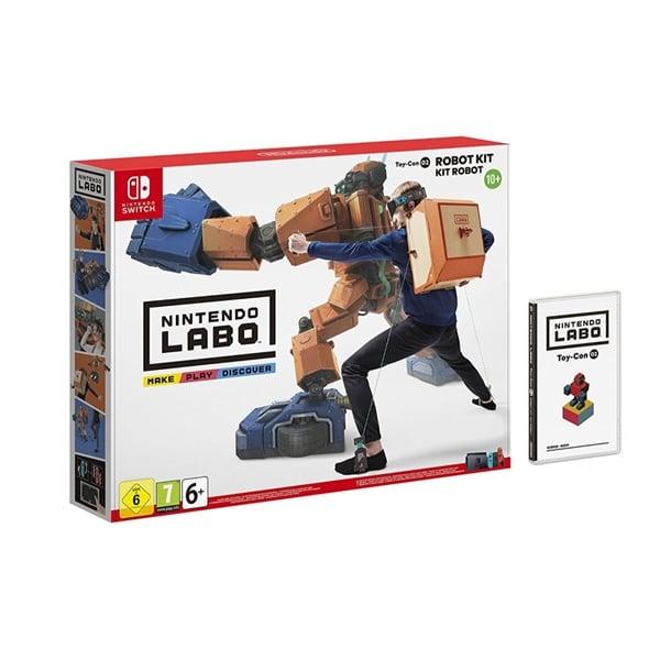Nintendo Labo Kit de Robot Toycon para Nintendo Switch