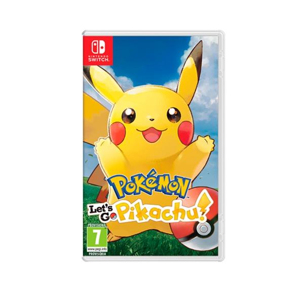Nintendo Switch Pokémon: Let's Go Pikachu! - Videojuego