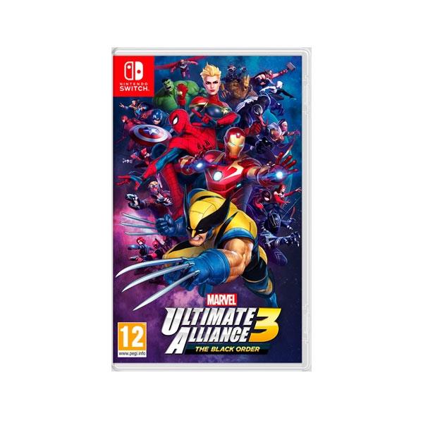 Nintendo Switch Marvel Ultimate Alliance 3  Videojuego