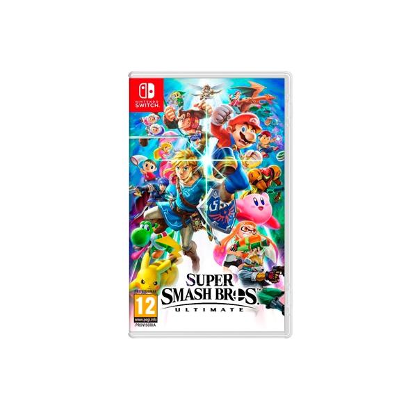 Nintendo Switch Super Smash Bros Ultimate Ed. Limitada
