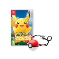 Nintendo Switch Pokémon: Let's Go Pikachu! + Pokéball