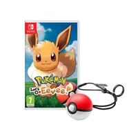Nintendo Switch Pokémon: Let's Go Eeve! + Pokéball - Juego
