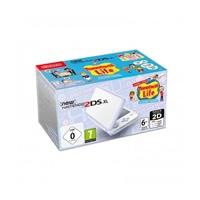 Nintendo New 2DS XL Blanca + Tomodachi Life - Consola