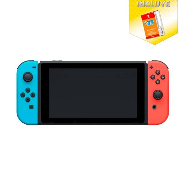 Nintendo Switch RojaAzul  35 Nintendo Eshop  Consola