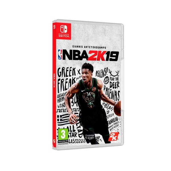 Nintendo Switch NBA 2K19  Videojuego