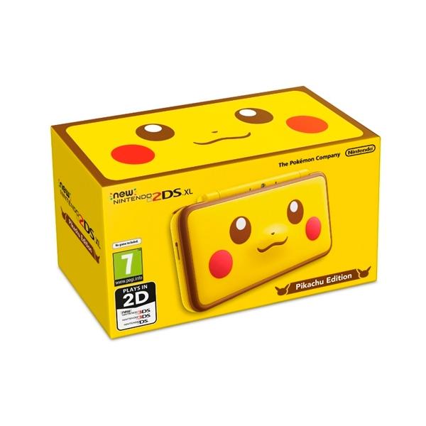 Nintendo New 2DS XL Edición de Pikachu  Consola