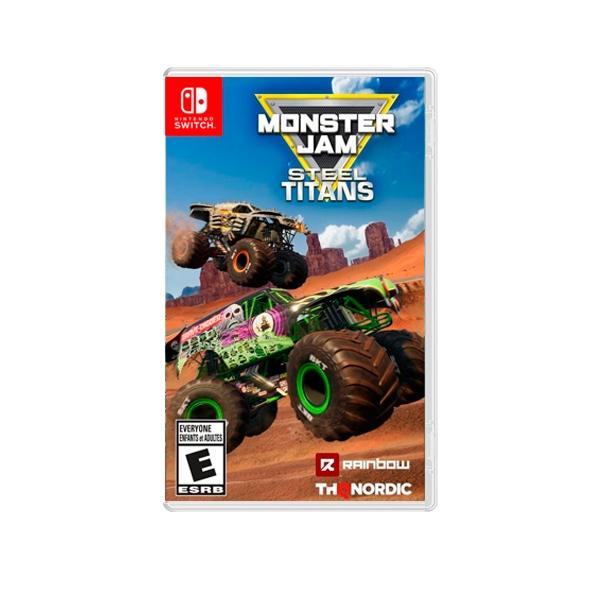 Nintendo Switch Monster Jam Steel Titans  Videojuego