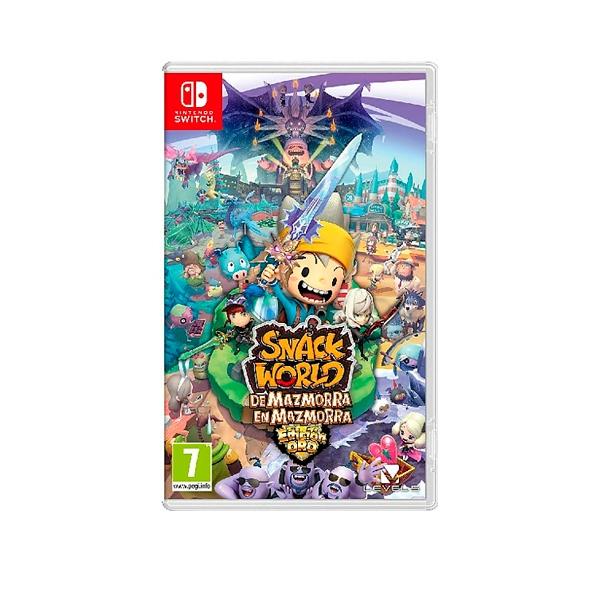 Nintendo Switch Snack World De Mazmorra en Mazmorra  Juego