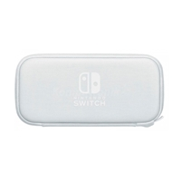 Funda gris + Protector de pantalla para Nintendo Switch Lite
