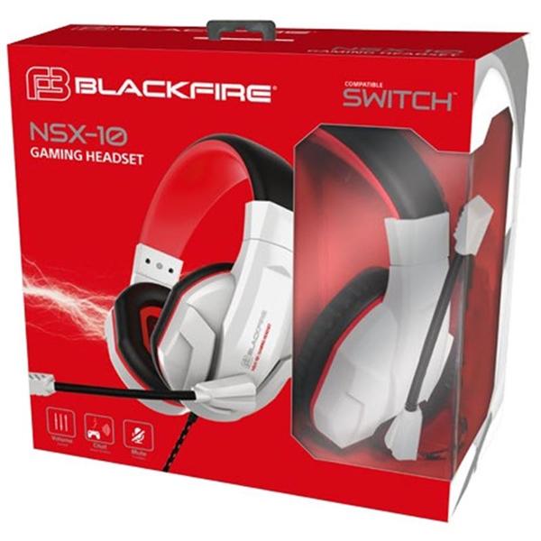 Blackfire Auriculares con micrófono para Nintendo Switch