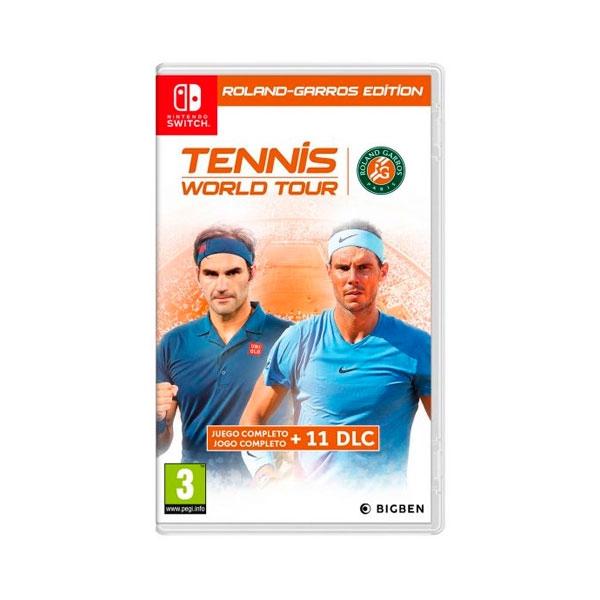 Nintendo Switch Tennis World Tour Ed RolandGarros  Juego