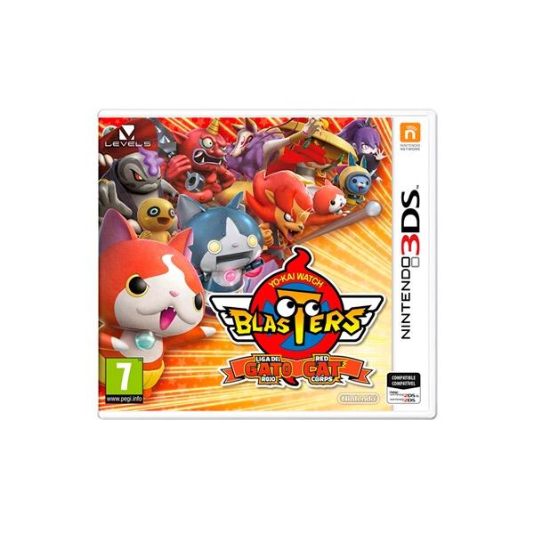 Nintendo 3DS YoKay Watch Blasters Gato  Videojuego