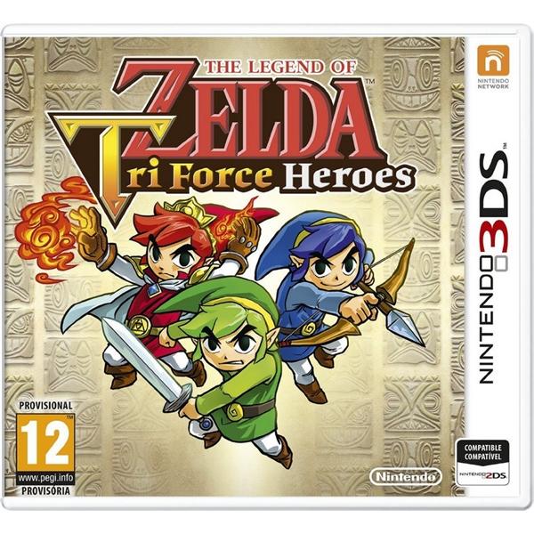 Nintendo 3DS The Legend of Zelda Tri Force Heroes – Juego