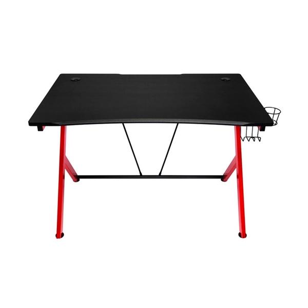 Nitro Concepts D12 negra  roja  mesa
