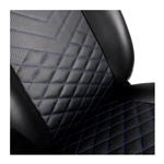 Noblechairs Icon negra  azul  Silla