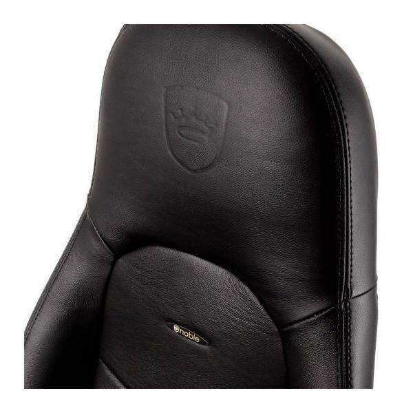 Noblechairs Icon cuero color negro - Silla
