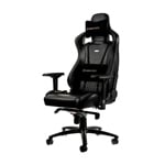 Noblechairs Epic cuero color negro - Silla
