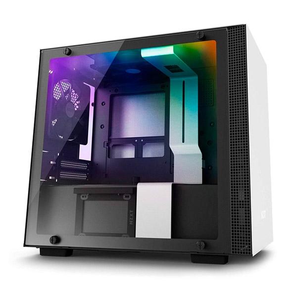 NZXT H200i con ventana negra  blanca  Caja