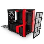 NZXT H210 mITX Negra Roja  Caja