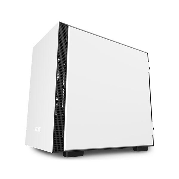 NZXT H210 mITX Negra Blanca - Caja