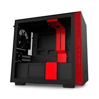 NZXT H210i mITX RGB Negra Roja - Caja