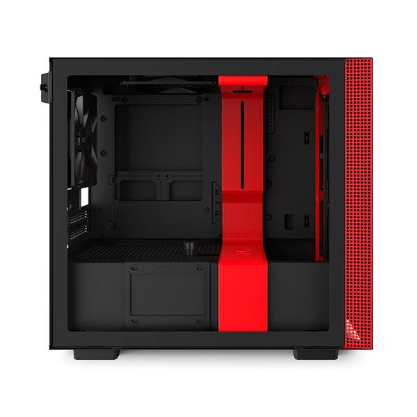 NZXT H210i mITX RGB Negra Roja  Caja