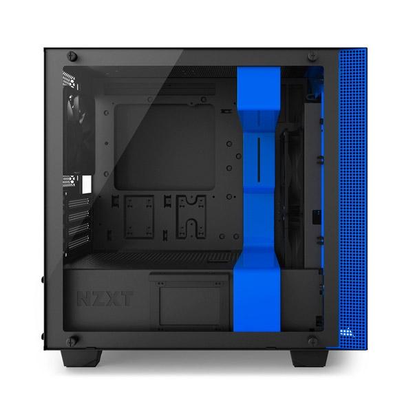 NZXT H400i con ventana negra / azul - Caja