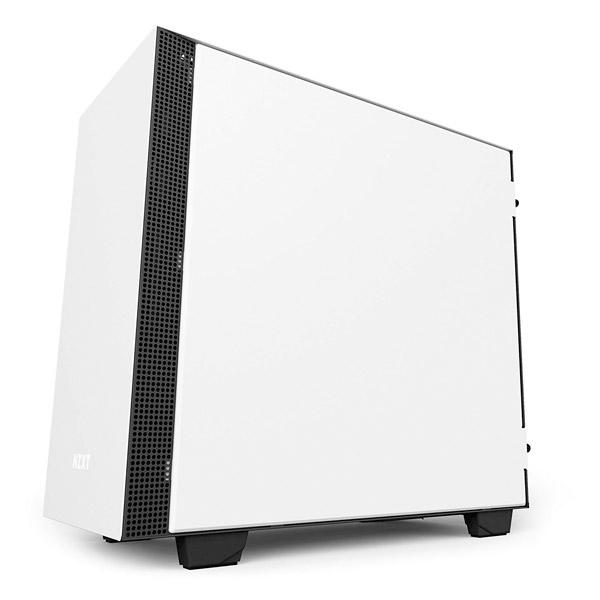 NZXT H400i con ventana blanca  negra  Caja